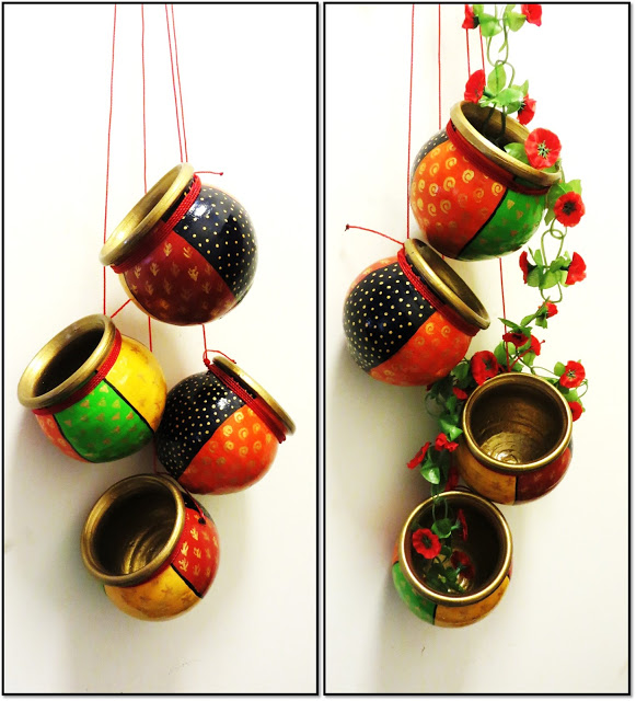 8 easy diy diwali decoration ideas for Simple diwali home decorations