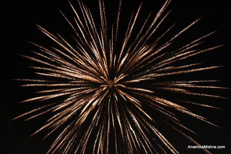 Happy Dussehra - Fireworks Photos I Captured